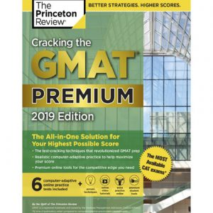 فایل کتاب The Princeton Review Cracking the GMAT Premium Edition 2019