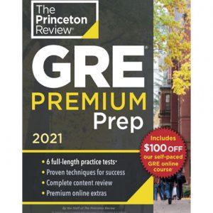 فایل کتاب The Princeton Review - GRE Premium Prep 2021