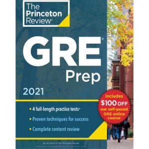 فایل کتاب The Princeton Review - GRE Prep 2021