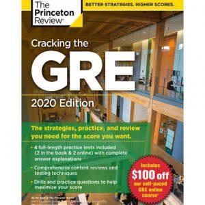 فایل کتاب The Princeton Review cracking the gre with 4 practice tests 2020