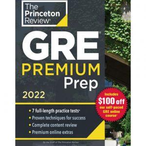 فایل کتاب The Princeton Review - gre premium prep 2022