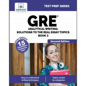 فایل کتاب Vibrant - GRE Analytical Writing - Solutions to the Real Essay Topics - Book 2 (2021)