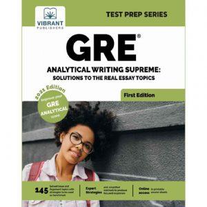 فایل کتاب Vibrant - GRE Analytical Writing Supreme Solutions to the Real Essay Topics 2021