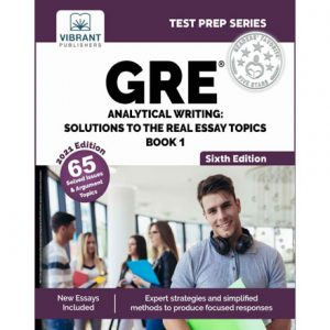 فایل کتاب Vibrant - GRE Analytical Writing - Solutions to the Real Essay Topics - Book 1 (2021)