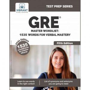 فایل کتاب Vibrant - GRE Master Wordlist - 1535 Words for Verbal Mastery 2021