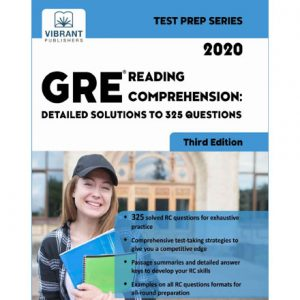 فایل کتاب Vibrant - GRE Reading Comprehension - Detailed Solutions to 325 Questions 2020