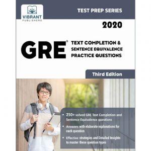فایل کتاب Vibrant - GRE Text Completion and Sentence Equivalence Practice Questions 2020