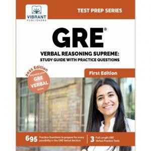 فایل کتاب Vibrant - GRE Verbal Reasoning Supreme - Study Guide with Practice Questions 2021