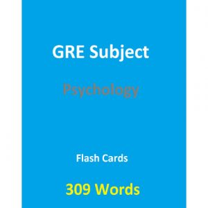فایل کتاب 309 Words GRE Psychology