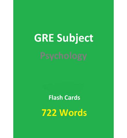 فایل کتاب 722 Words GRE Psychology