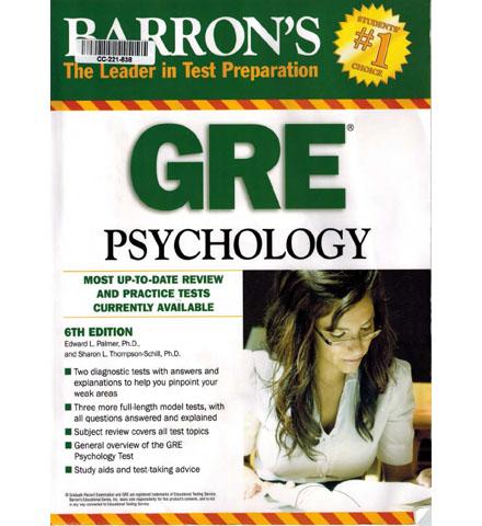 فایل کتاب Barron's GRE Psychology