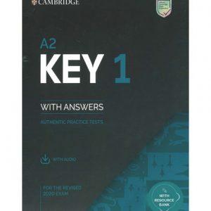 فایل کتاب Cambridge A2 Key 1
