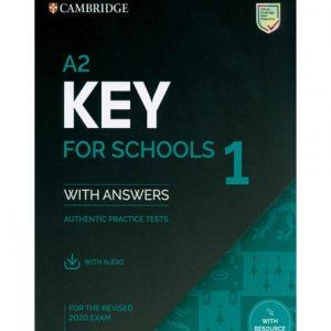 فایل کتاب Cambridge A2. Key for Schools 1