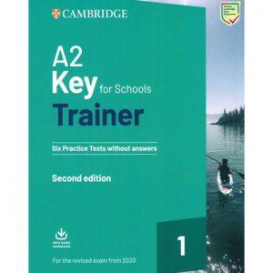 فایل کتاب Cambridge A2 Key for schools Trainer 1