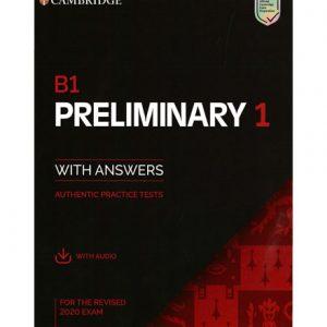 فایل کتاب Cambridge B1 Preliminary 1