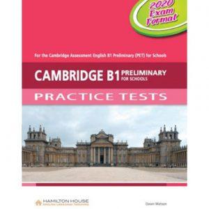فایل کتاب Cambridge B1 Preliminary for Schools Practice Tests