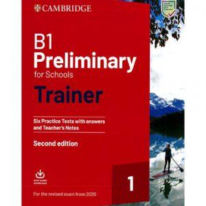 فایل کتاب Cambridge B1 Preliminary for Schools Trainer