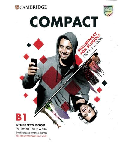 فایل کتاب Cambridge Compact Preliminary