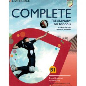 فایل کتاب Cambridge Complete Preliminary