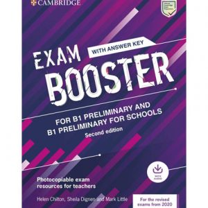 فایل کتاب Cambridge Exam Booster for B1 Preliminary