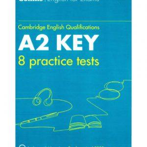 فایل کتاب Collins Cambridge A2 Key 8 Practice Tests