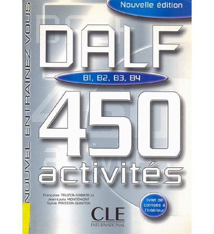 فایل کتاب DALF 450 activités