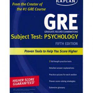 فایل کتاب Kaplan's GRE Subject Test Psychology