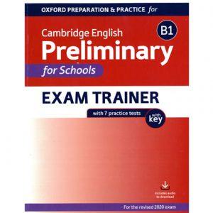 فایل کتاب Oxford Preliminary for Schools Exam Trainer