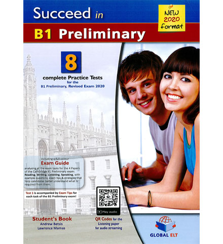 فایل کتاب Succeed B1 Preliminary 8 Practice Tests