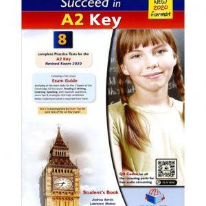 فایل کتاب Succeed in A2 Key 8 Practice Tests