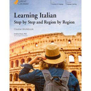 پکیج آموزش تصویری TTC - Learning Italian Step by Step and Region by Region