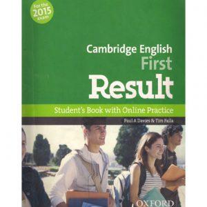 فایل کتاب Oxford FCE Result