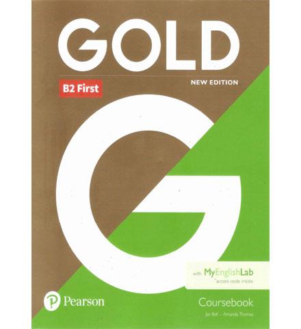 فایل کتاب Pearson Gold B2 First